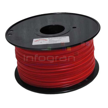 Nylon 1,75mm Rojo